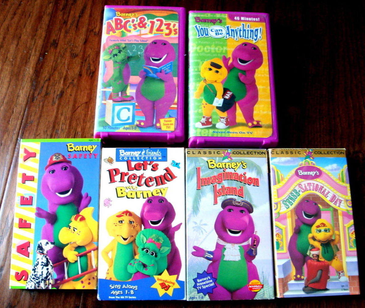Throughout the 1990s and early 2000s Barney's home videos were very popular and great sellers in video stores.