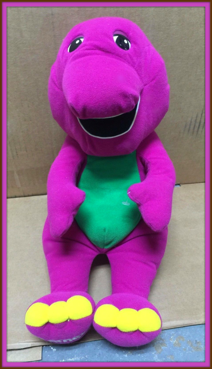 Larry Rifkin a executive in Public Broadcasting likened  Barney to Big Bird, and knew he would have appeal to  young children.  He was right on the money, Barney was the hit of the 1990s.