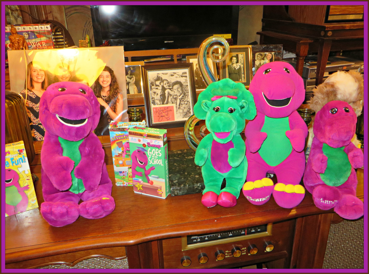 These Amazing Barney VHS  videos and plush toys are awesome, the videos still play great, and both the talking Barneys still work very well. They really made great products for the children of this era.