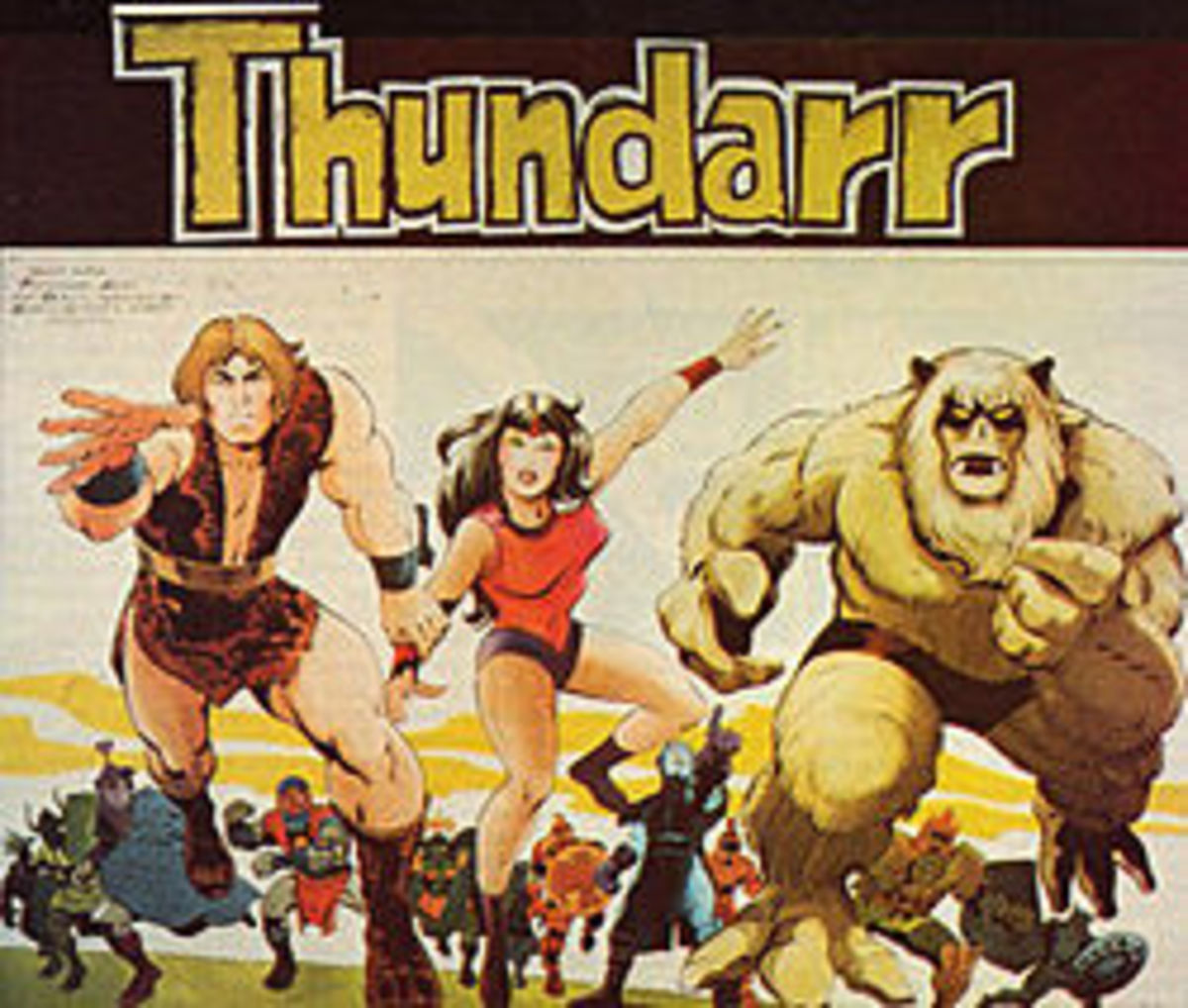 Geektoons: Thundarr the Barbarian