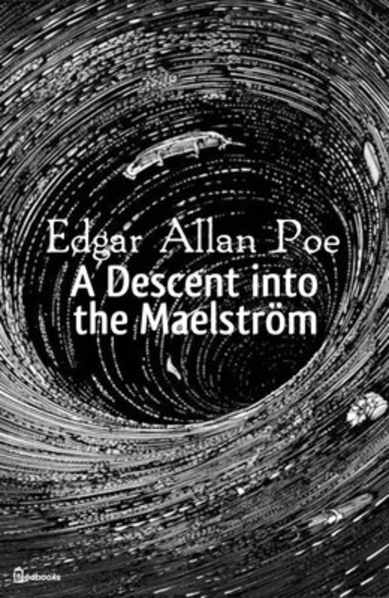 First knonw use of the word Maelstrom in English, by Edgar Allan Poe.