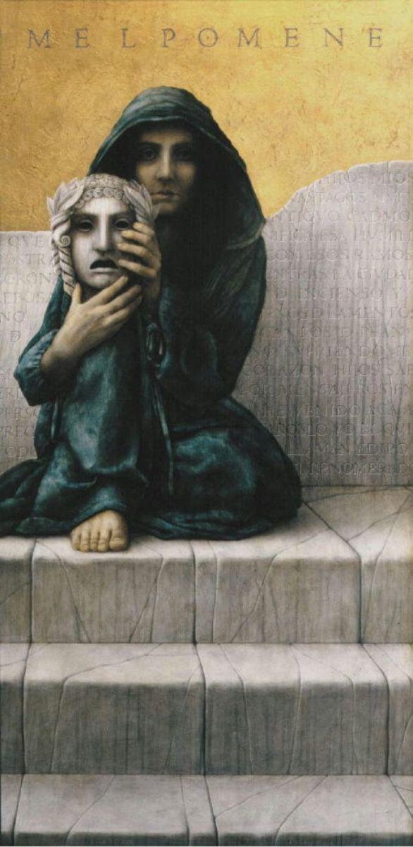Melpomene by José Luis Muñoz Luque
