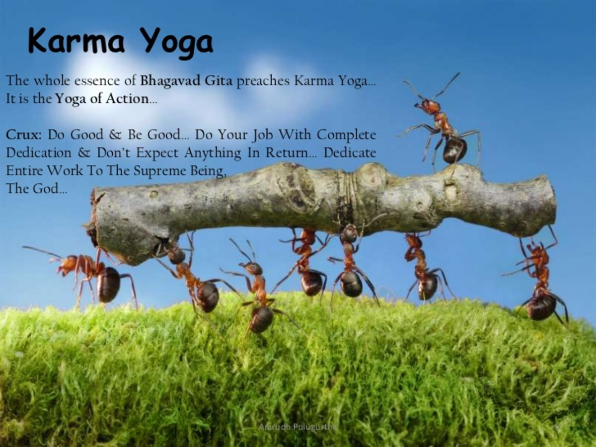 Karma Yoga - A Way of Being Present in The Moment of Now