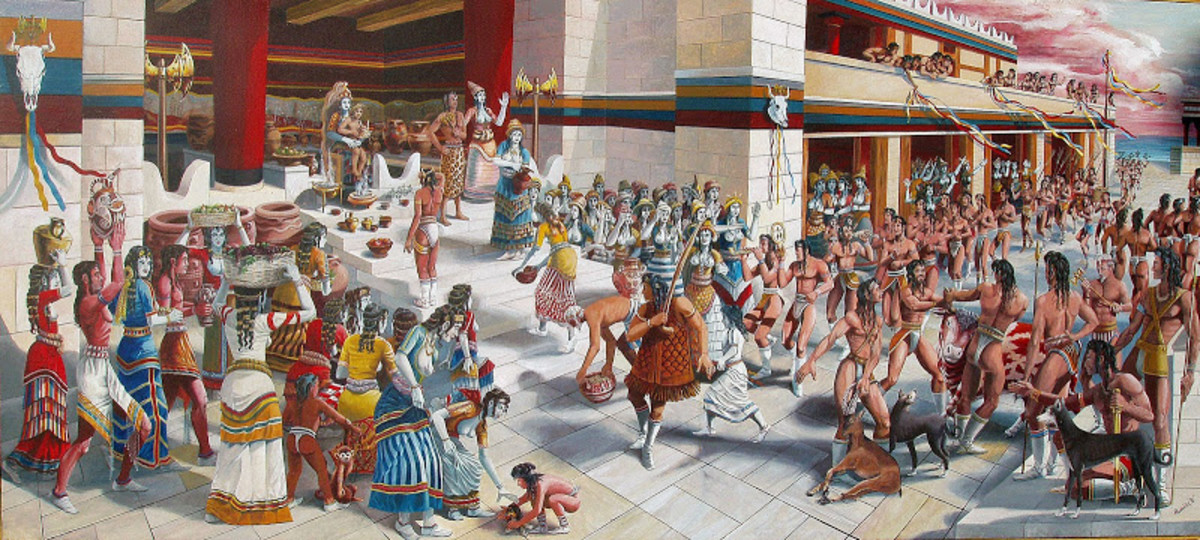 Ancient Greece: Ancient Minoan Versus Ancient Athenian Societies