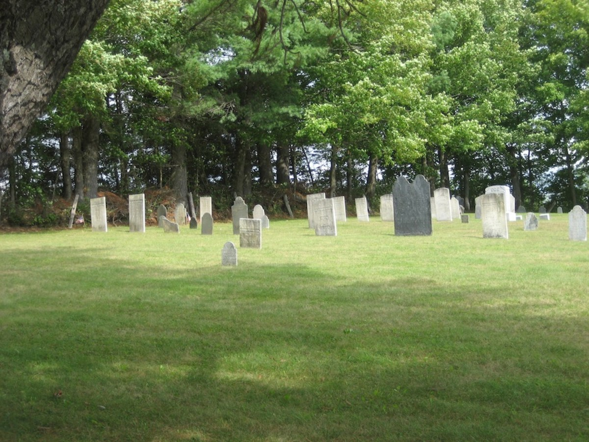 Haunted Cemeteries in Vermont