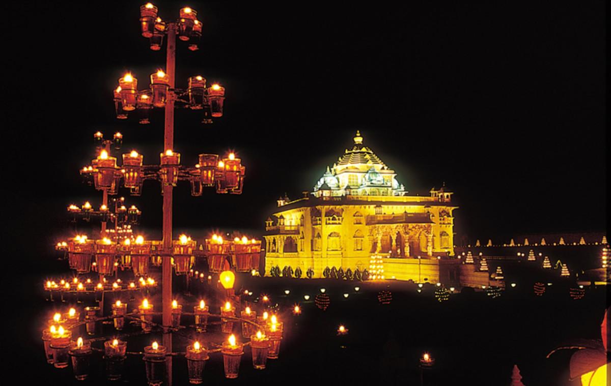 Gandhinagar Akshardham Temple