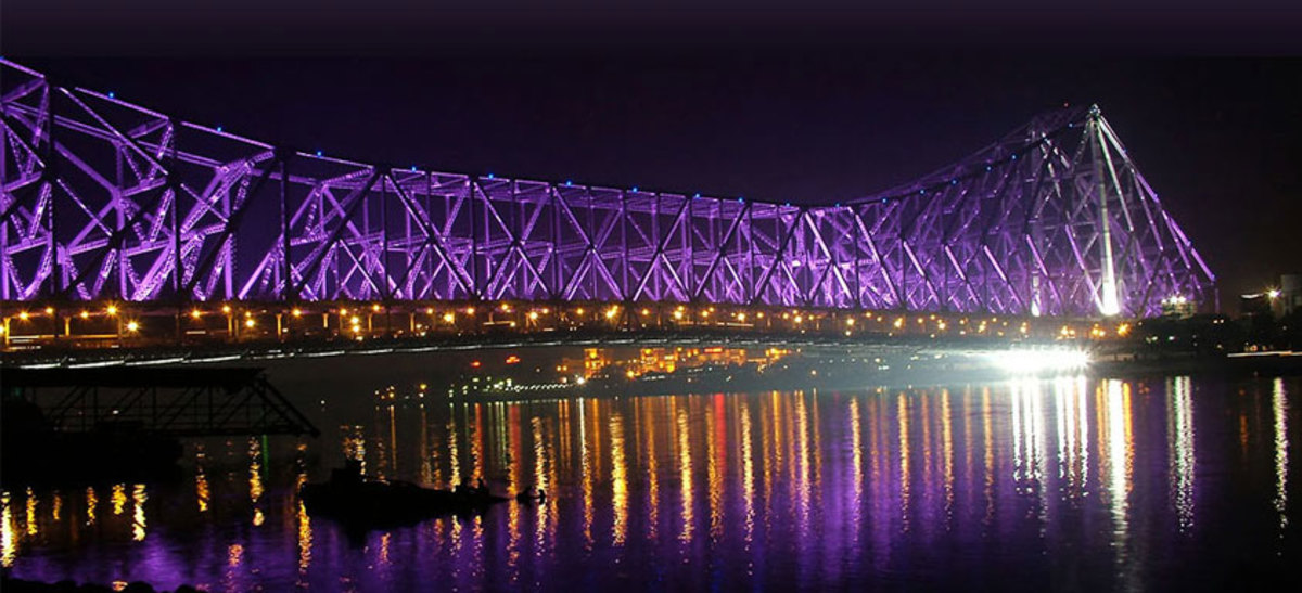 Kolkata at Diwali Night