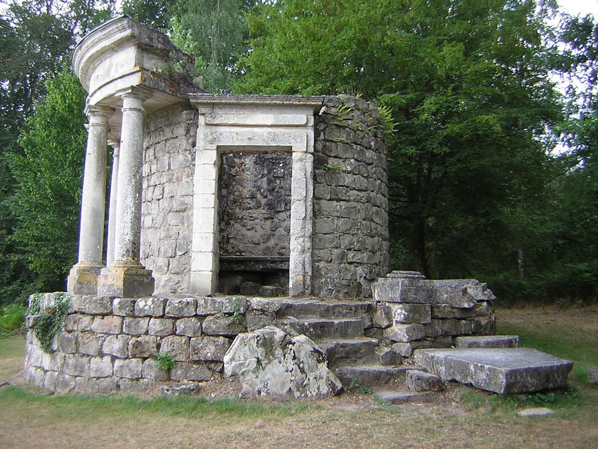 The Temple of Philosophy at Ermenonville, France, 1776