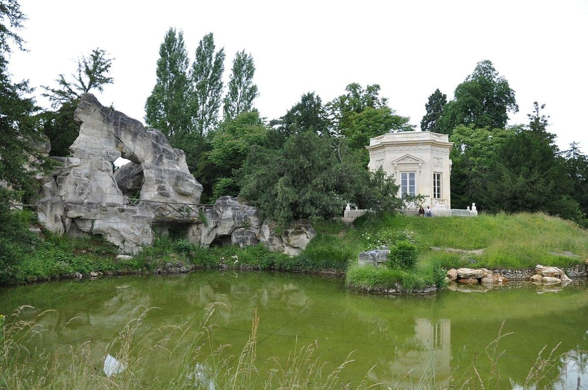 The octagonal Belvedere was built between (1778-81), and consecrated to the four Seasons, in the newly-informal gardens of the Petit Trianon at Versailles.