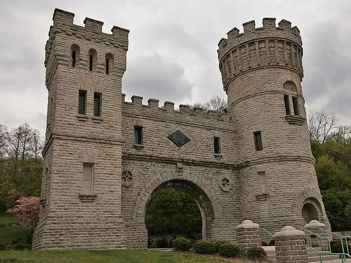 Elsinore Arch (also known as Elsinore Tower) is a registered historic structure in Cincinnati, Ohio, constructed in 1883 for the Cincinnati Water Works.