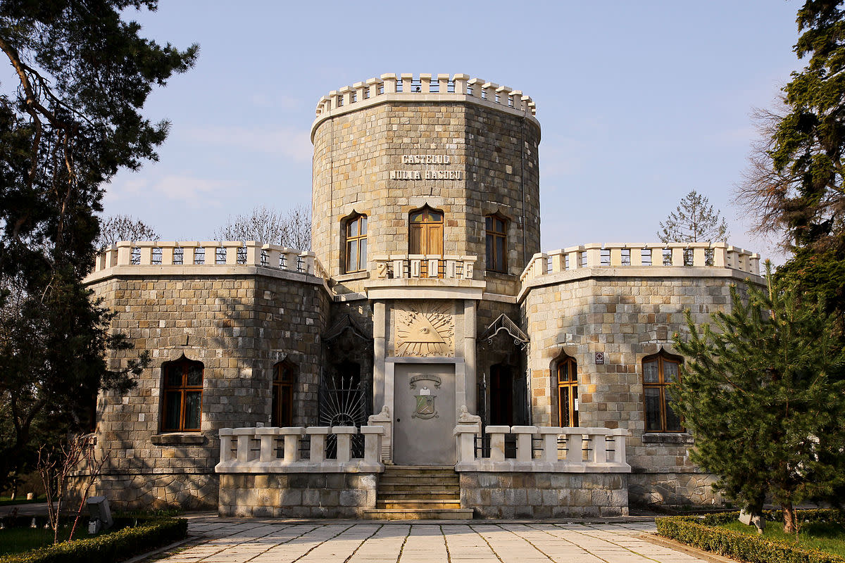 The Iulia Hasdeu Castle is a folly house built in the form of small castle by historian and politician Bogdan Petriceicu Hasdeu in the city of Câmpina, Romania in 1893.