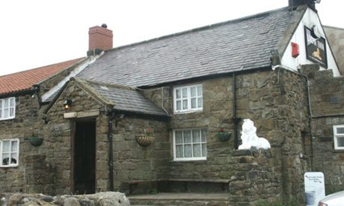 The Lion Inn at Blakey Rigg, witness to many hard winters high on the moor between Eskdale and Ryedale. Stopping-off point on the Lyke Wake Walk between Osmotherley in the west near Northallerton and Ravenscar on the coast near Robin Hood's Bay