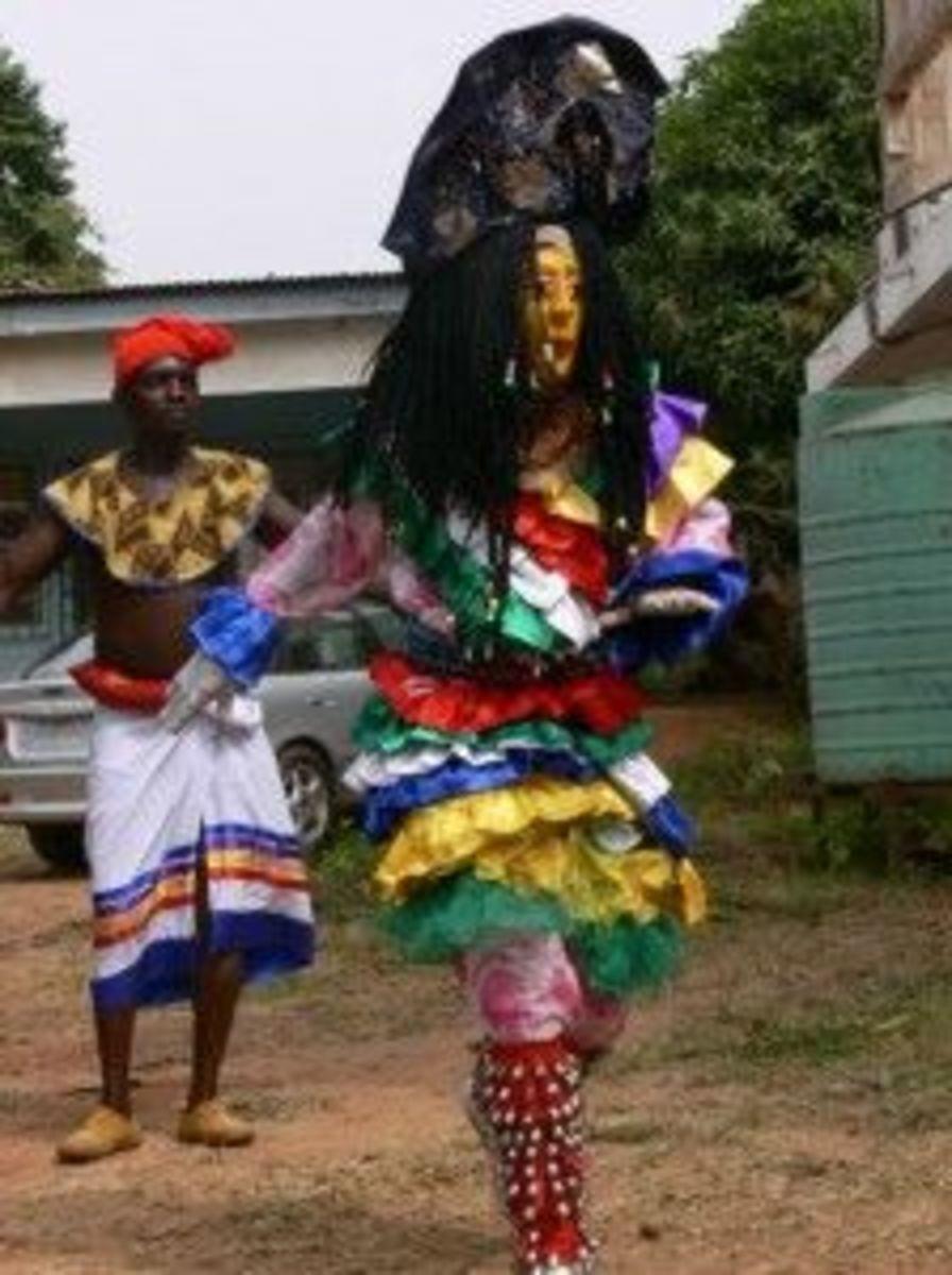 The Adamma masquerade