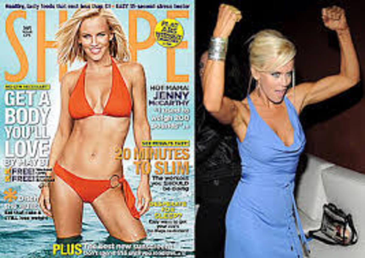 Losing weight with The Jenny McCarthy Diet