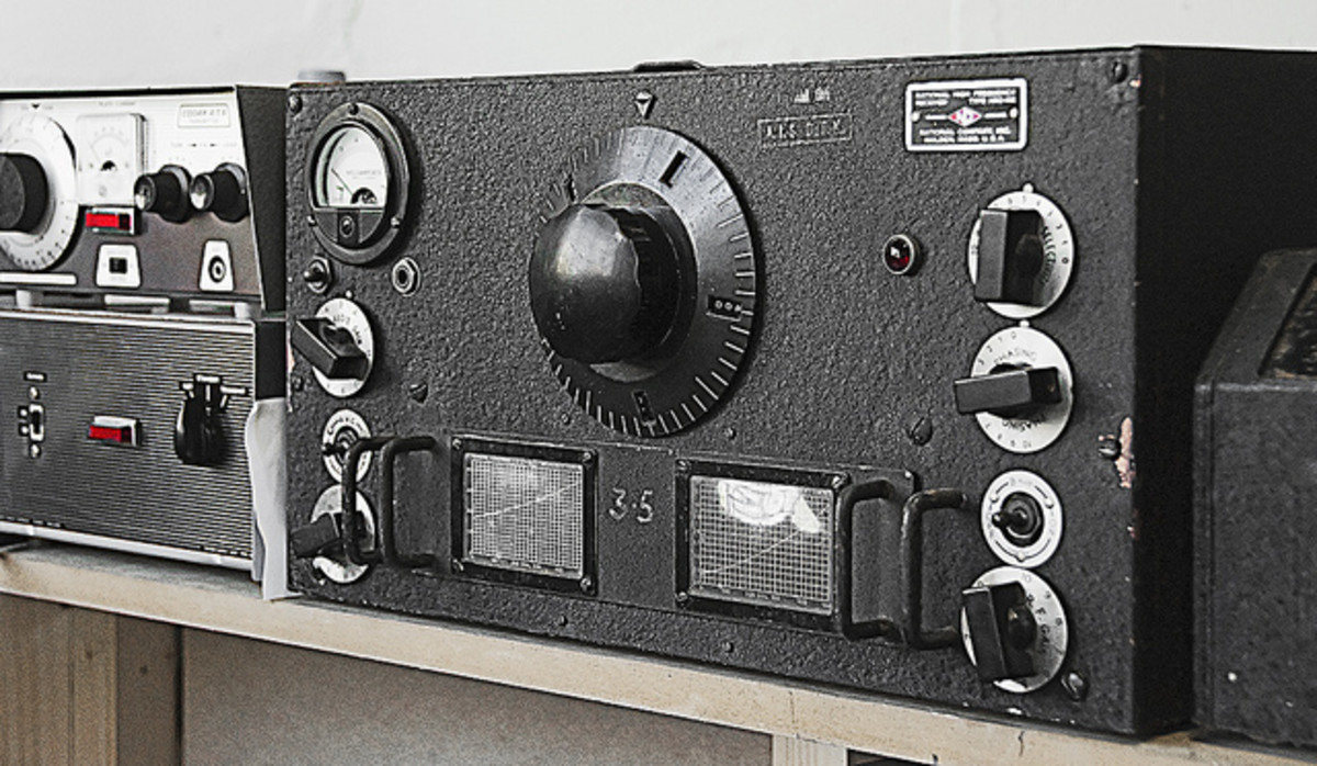 Civilian Ham radio used to listen in to Axis agents secret messages and passed to MI8 for their cryptanalytic effort.