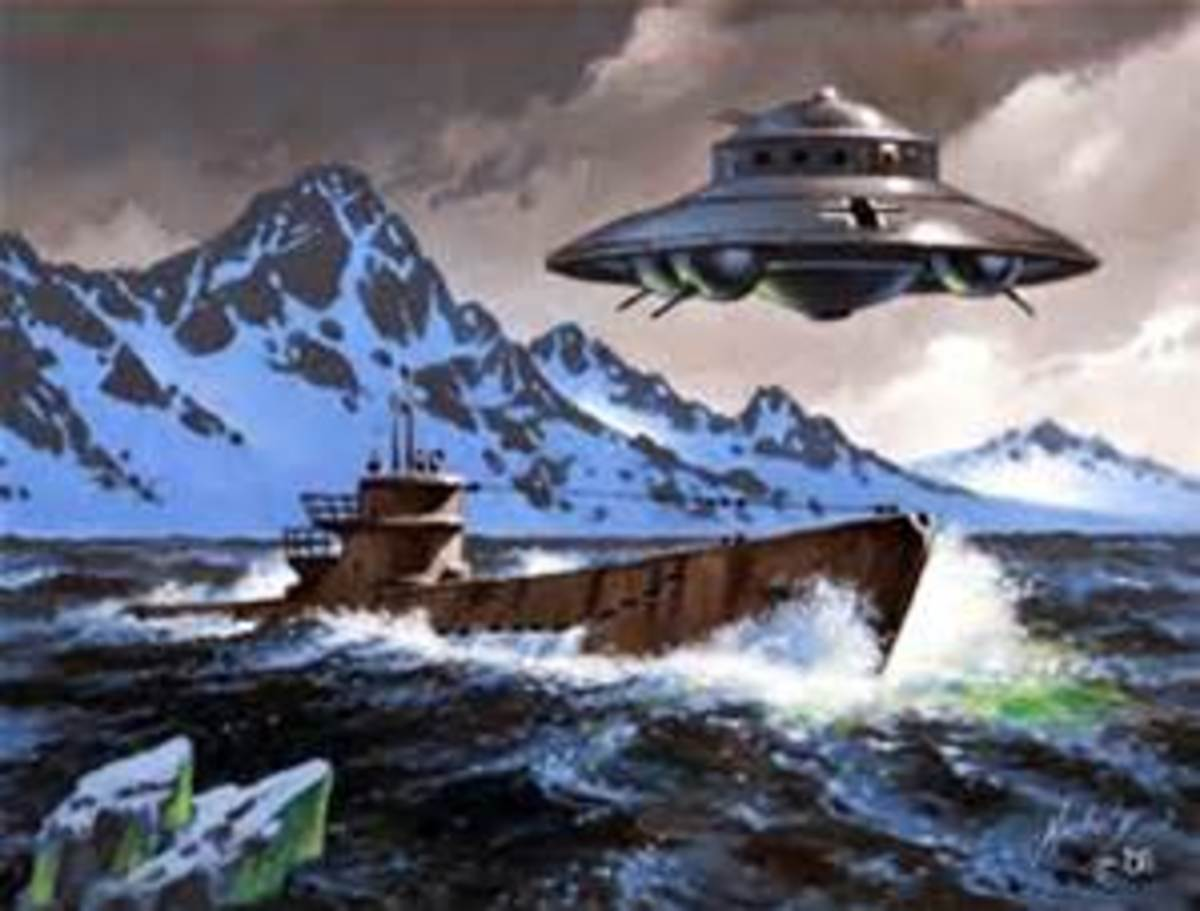 Impression of Vril activities in Antartica