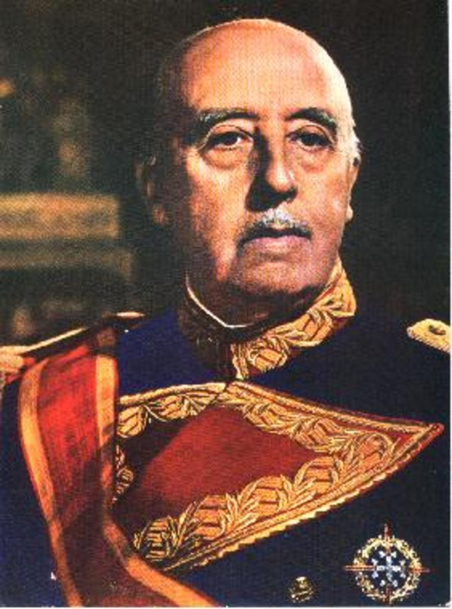 Pseudo Nazi General Franco of Spain