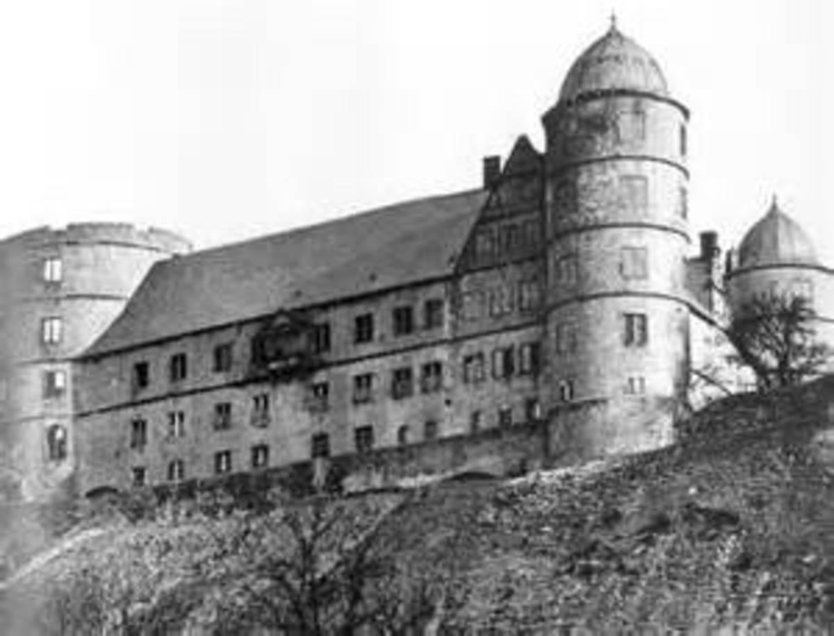 Wewelsburg Castle Buren, Westphalia,