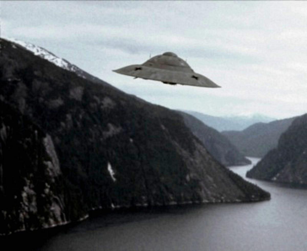 Vril flying saucer