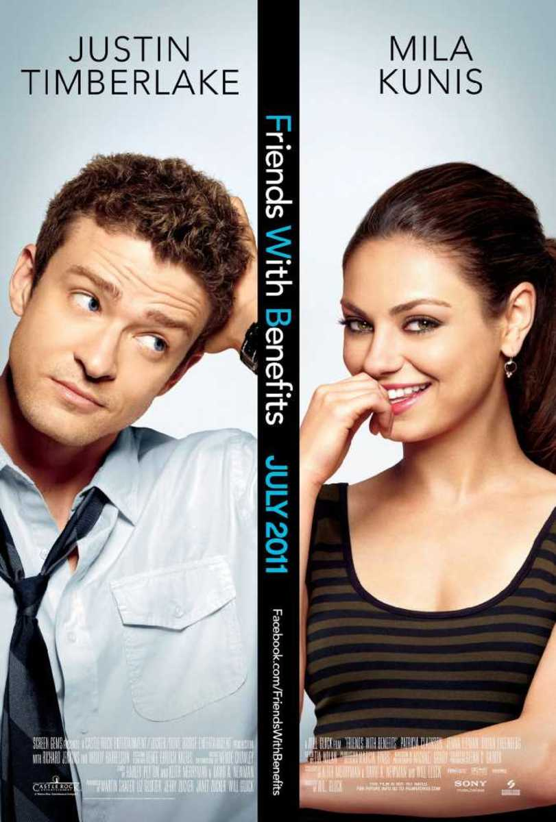 The girl from friends with benefits