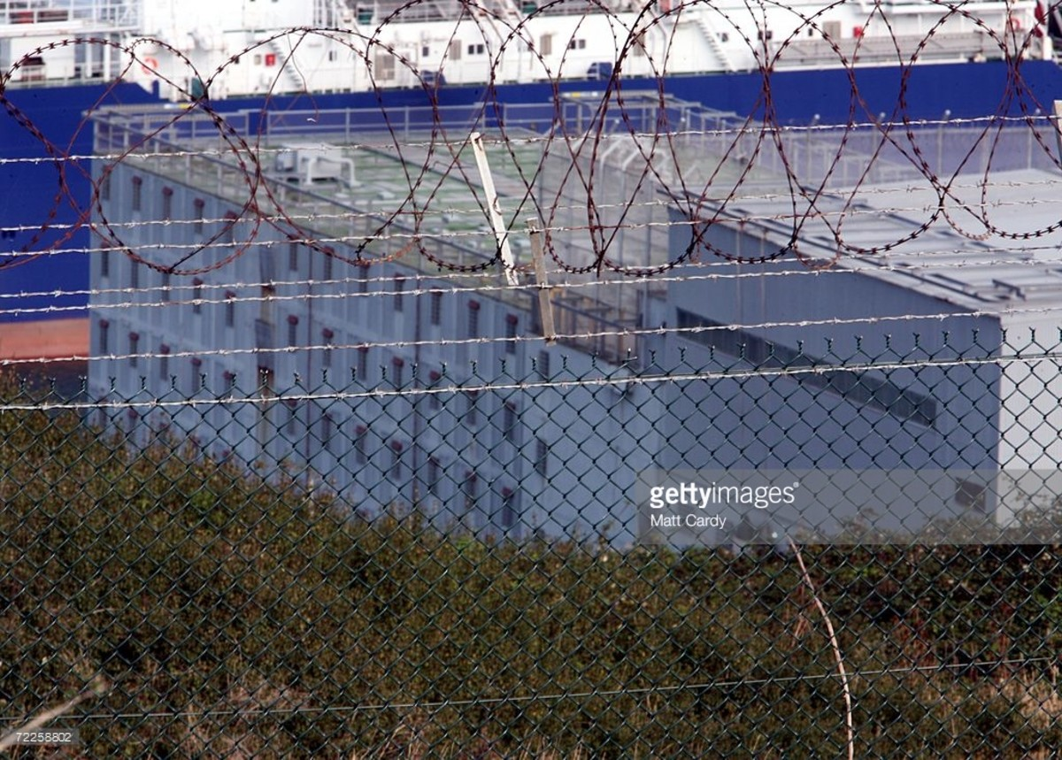 Last British prison ship HMP Weare