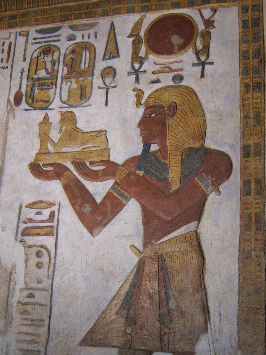 Pharaoh Ramesses III, the father of Unknown Man E