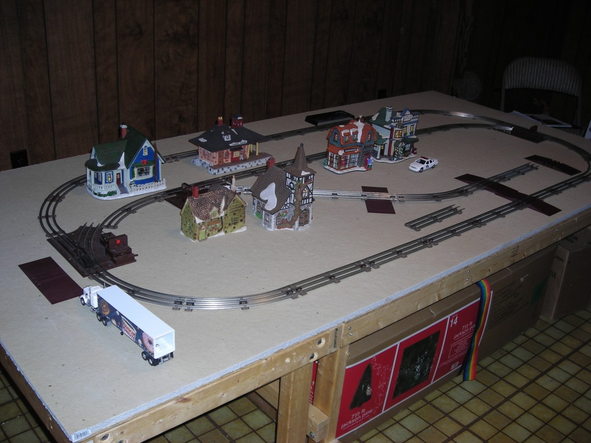 Building a 50s era Lionel Train Layout
