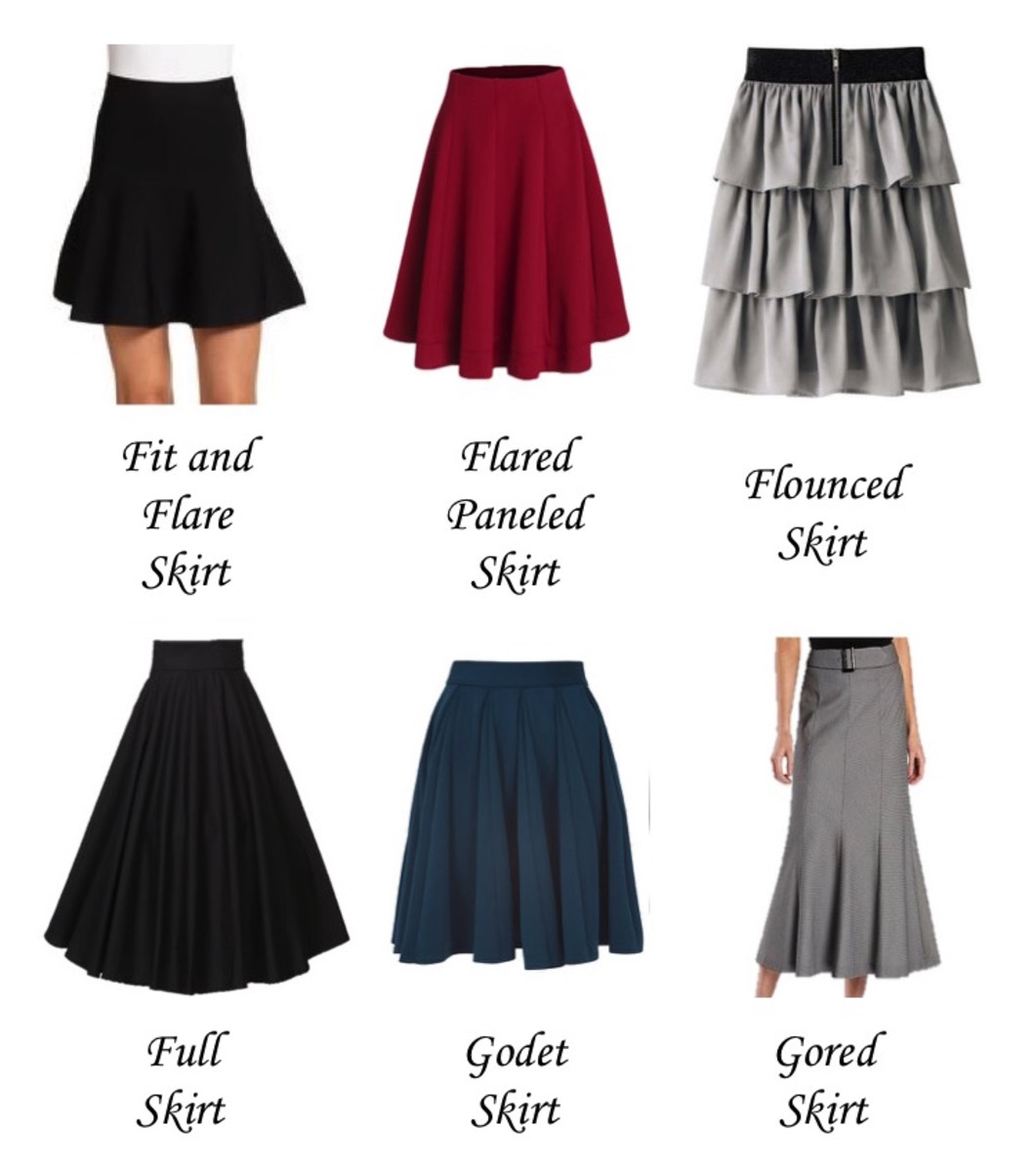 a-z-list-of-types-and-silhouettes-of-skirts-in-fashion