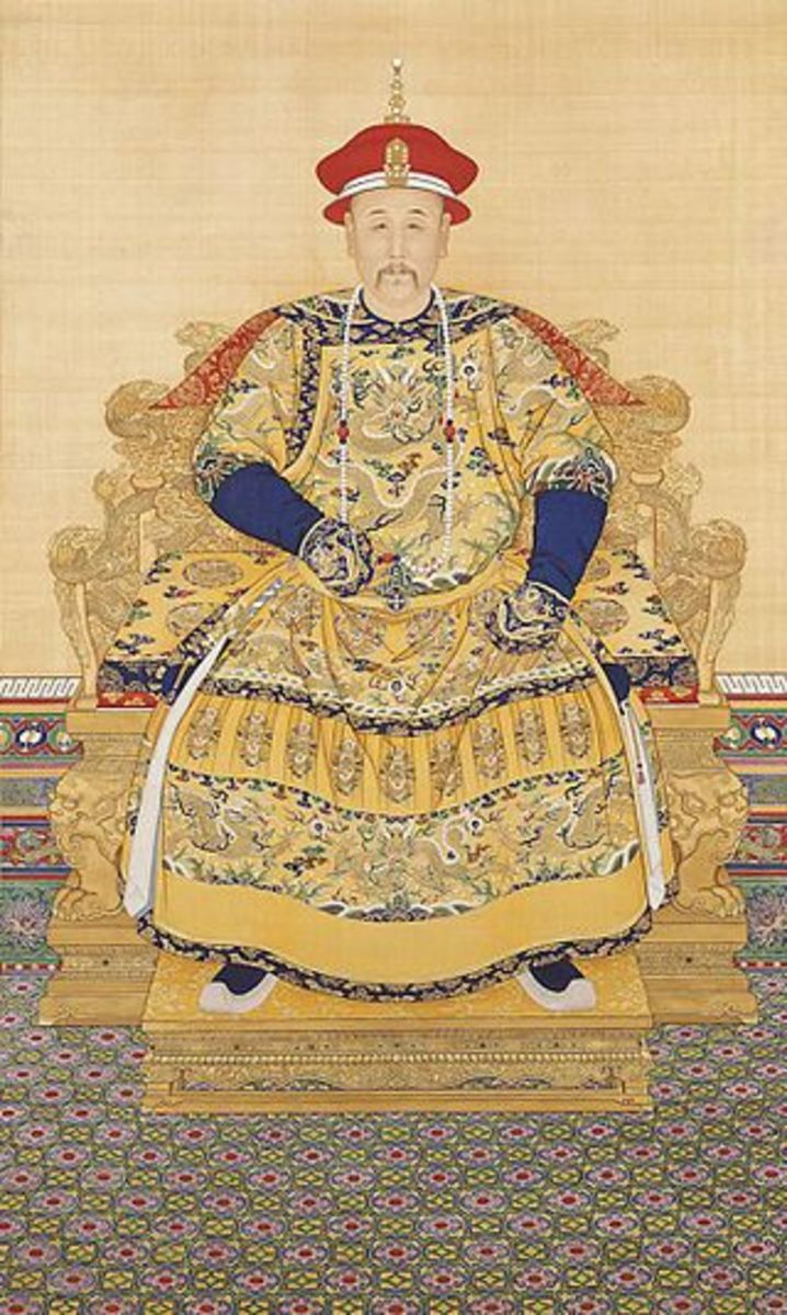 The Yongzheng Emperor, from a different era and with a different conception of state and nation.