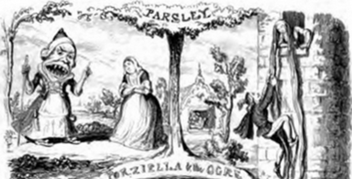 Petrosinella (Parsley) by Cruikshank
