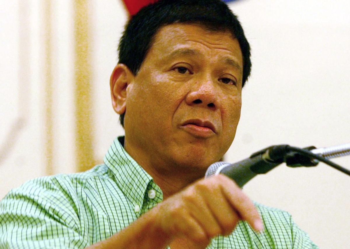 """President Rodrigo """"Rody"""" Roa Duterte"""