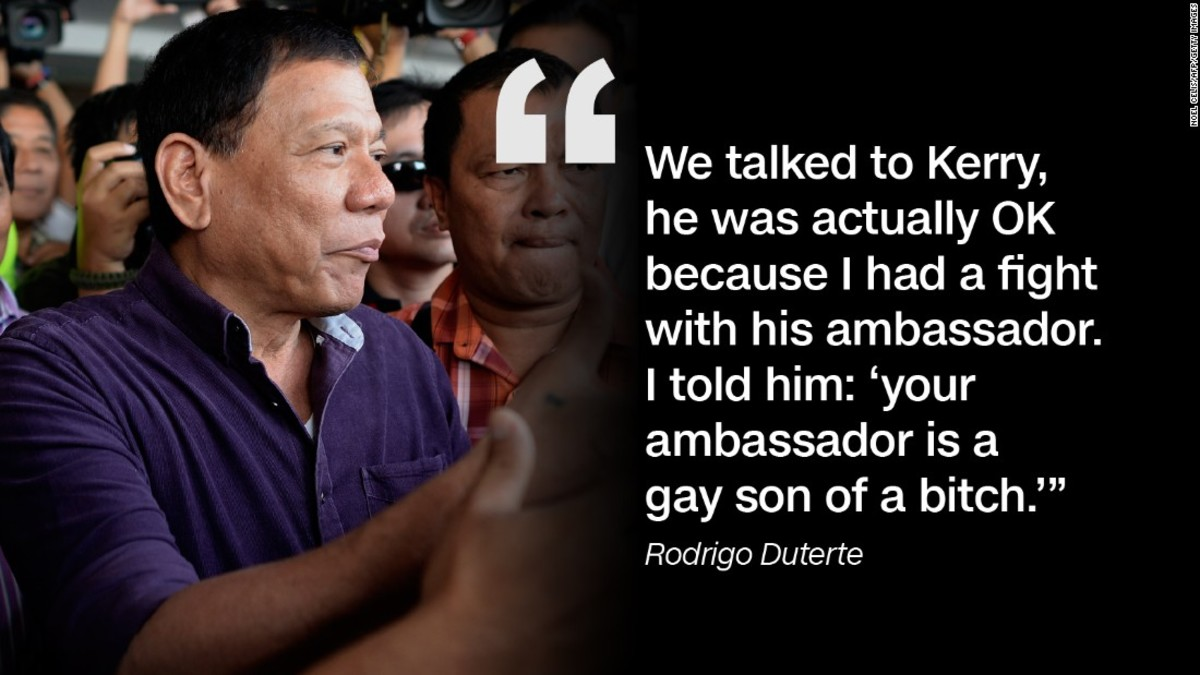 Duterte Cursing