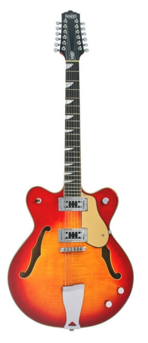 The Eastwood Classic 12 Semi-hollowbody, 12-string, electric guitar