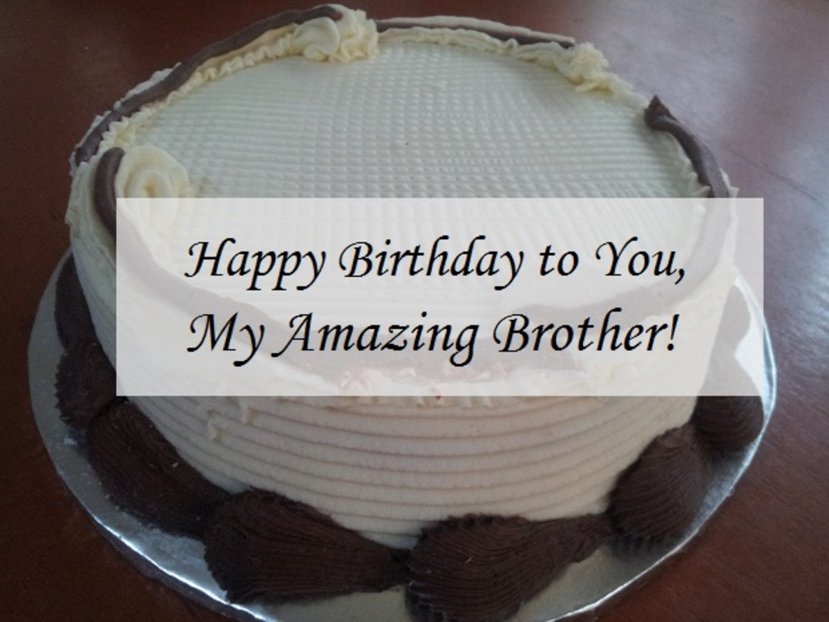 Birthday Wishes for a Younger Brother from an Elder Sister