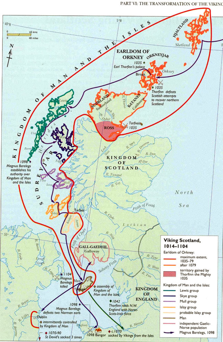 West Norse presence in the northern isles aroused Scots' animosity