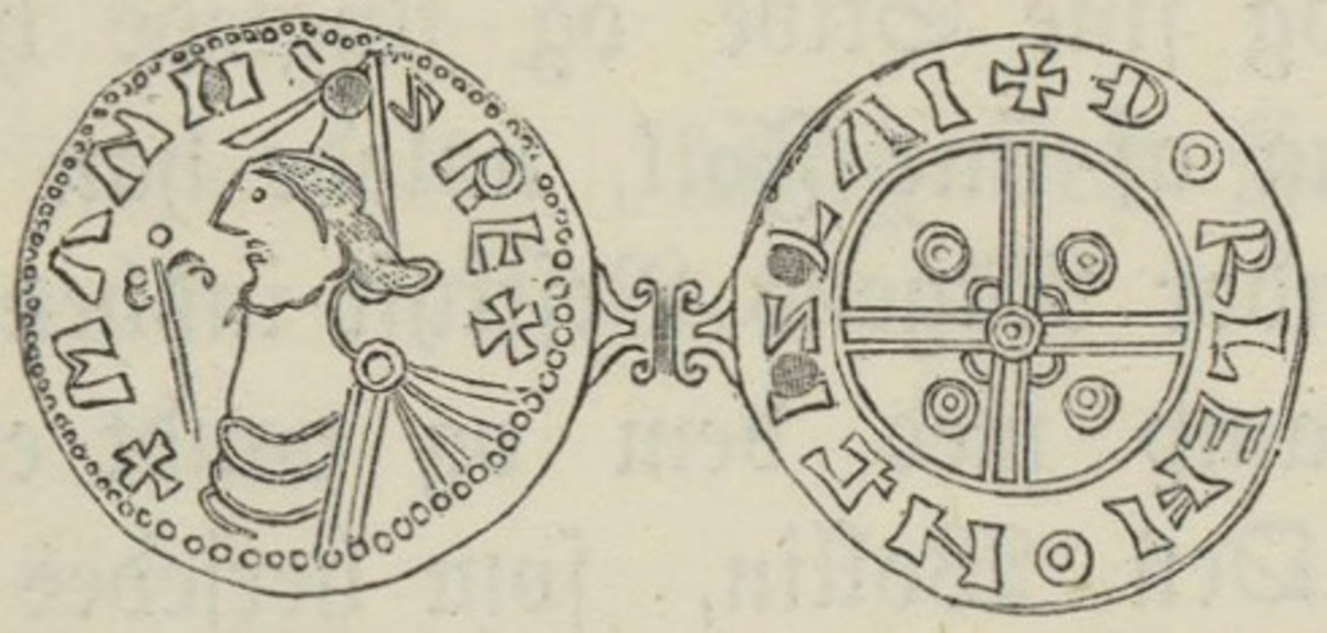 A coin minted during the twelve years of his reign over half Scandinavia