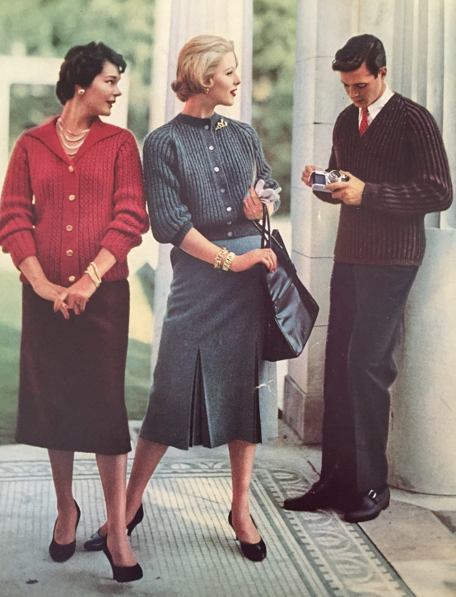 Cover Photo From Bernat Book No. 65, Bulky Knits Designed by Mirsa of Italy for Women and Men, 1958