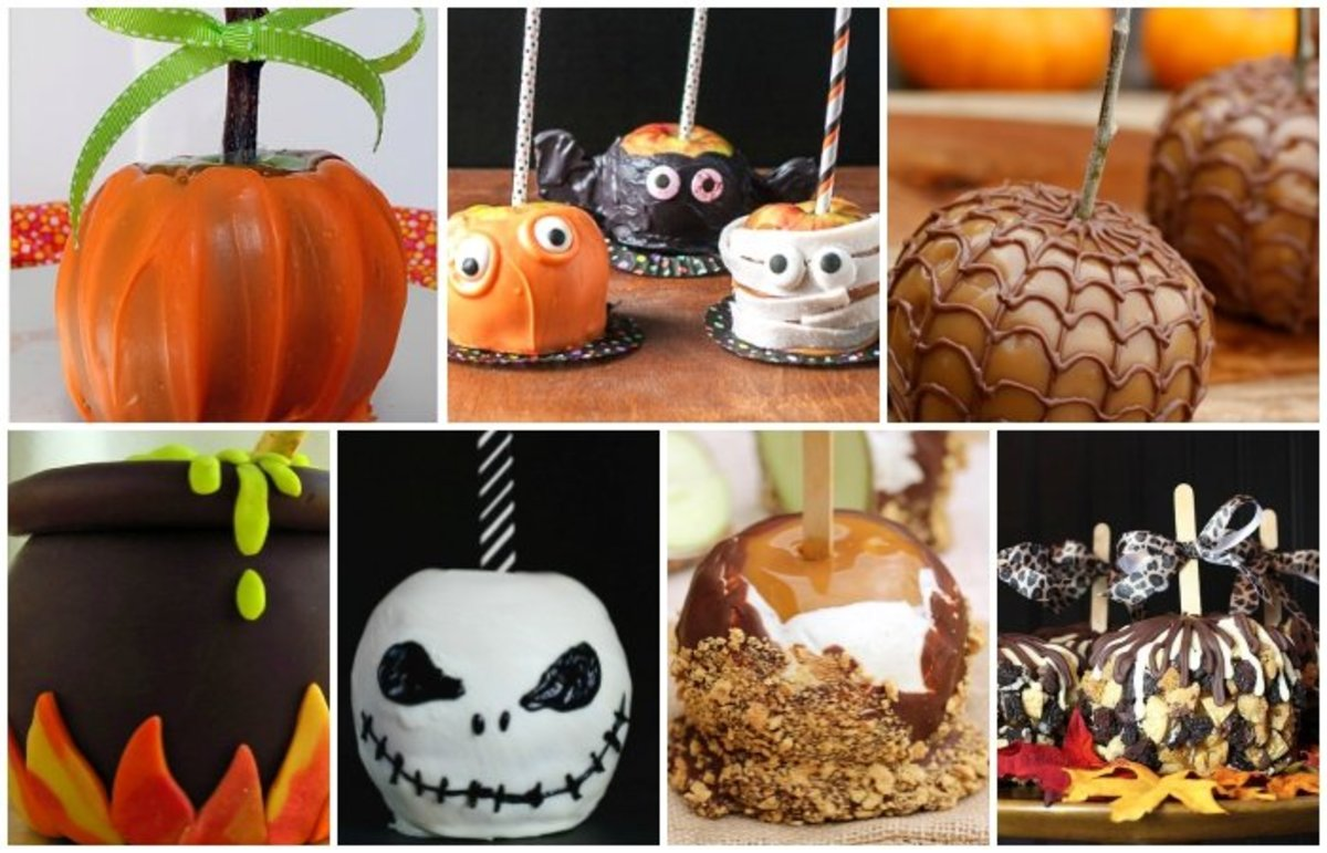 Halloween Candy Apple Recipes