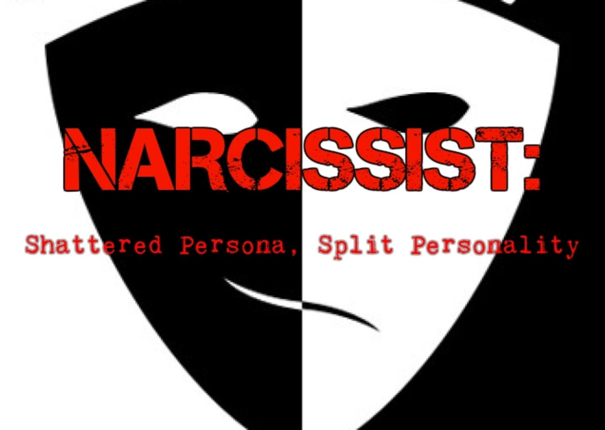 narcissist-shattered-persona-split-personality