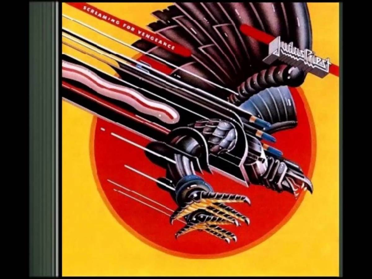 The album cover depicts an eagle flying in the sky ready to land. What is it going to land on? I guess we'll never know.