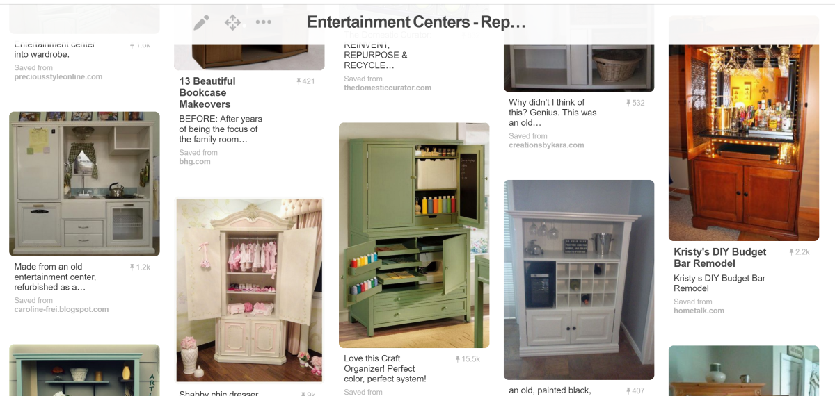 As you can see above, people are very creative in converting these to craft centers, a bar, and an armoire for baby clothes. The next time you see one of these for sale cheap or being given away, think about all the ways you can put it to use.