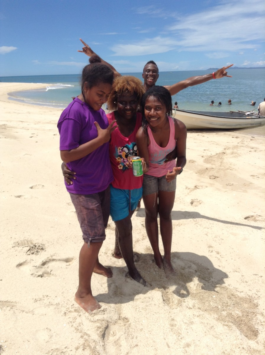 Paradise Beach Yule Island, Papua New Guinea