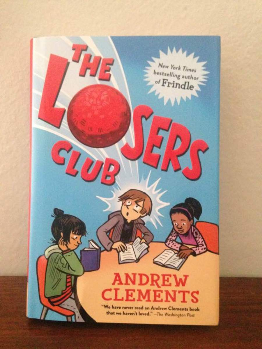 Bookworms Unite in Andrew Clements' Fun New Book The Losers Club