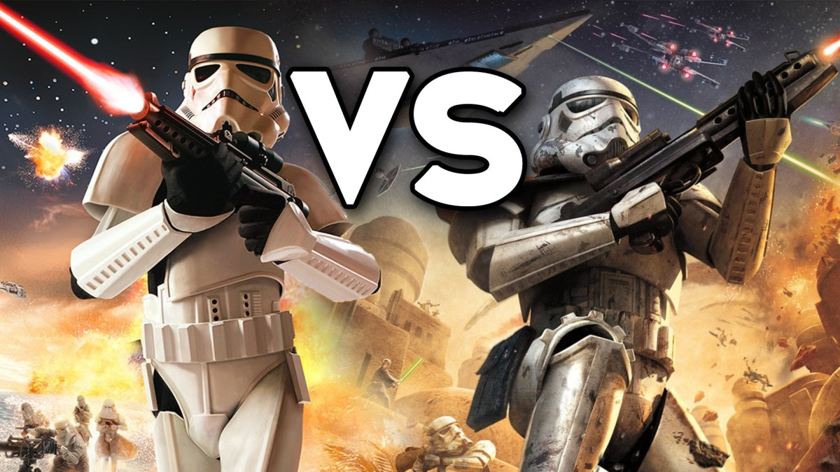Pandemic Studios vs. Free Radical Design vs. EA DICE | 17 years since the release of the first Star Wars: Battlefront game