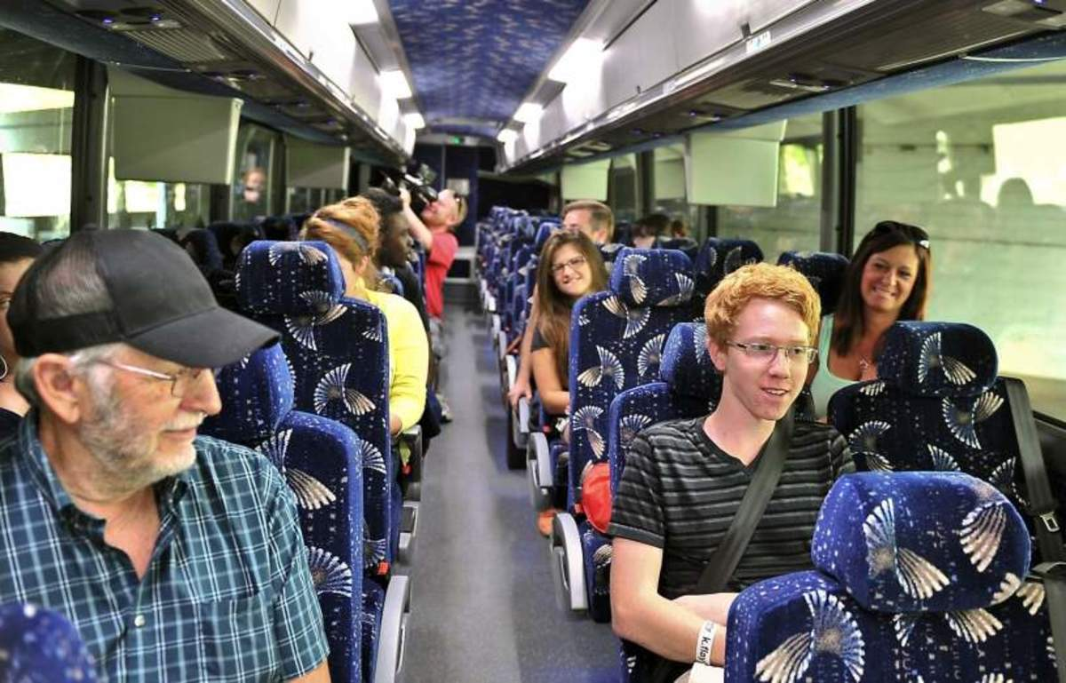 Throughout your Greyhound bus trip you will be surrounded by fellow passengers who will look out for you safety.