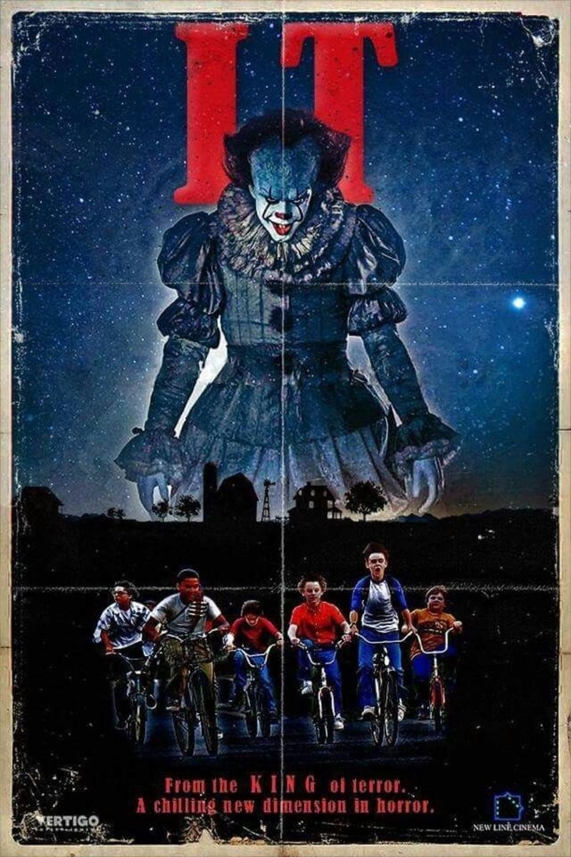 It (the official story) - meets - Stand By Me - meets - The Goonies - meets - The Lost Boys - meets - Dawn of the Dead (child-friendly version)
