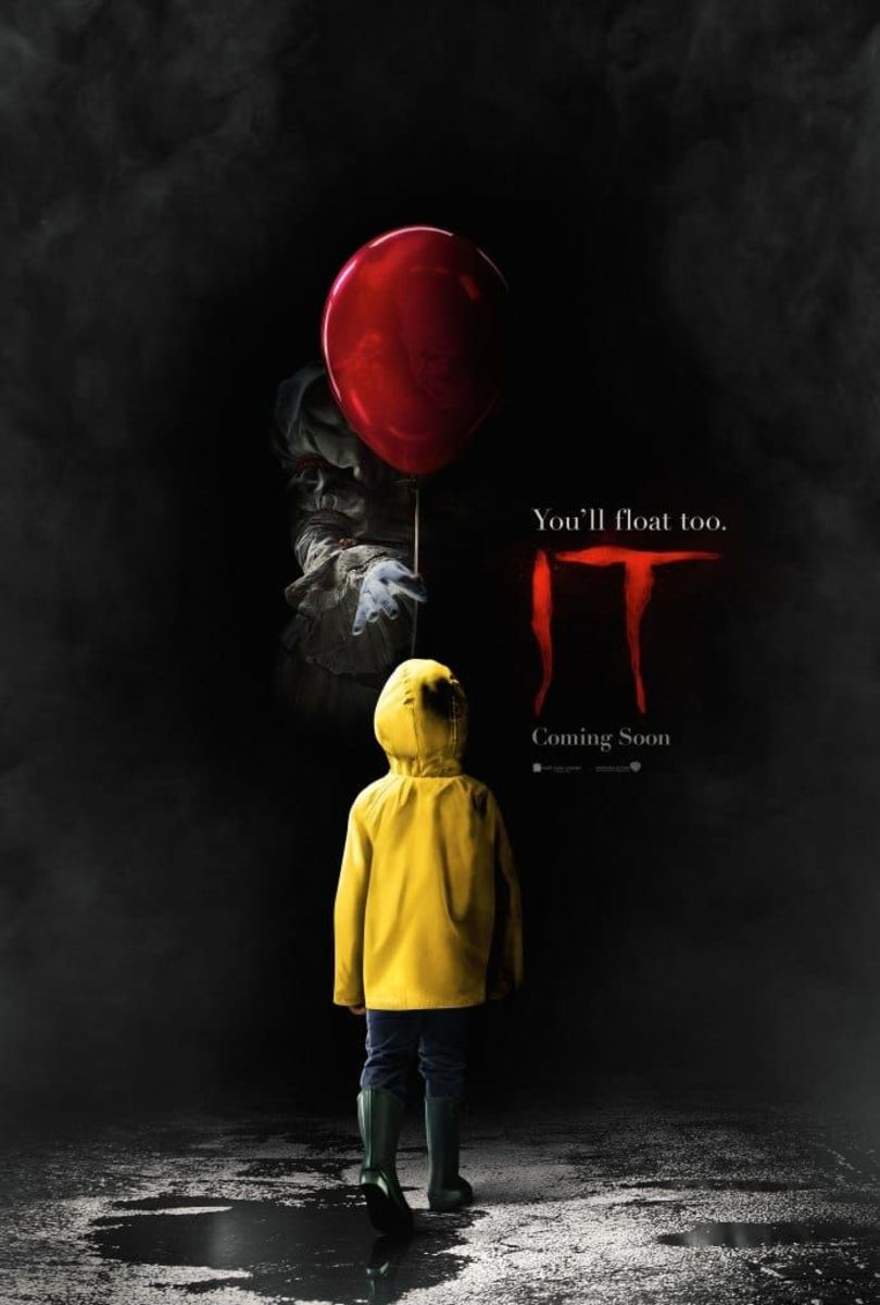 It (2017) - the second time around movie adaptation of Stephen King's popular novel of the same title