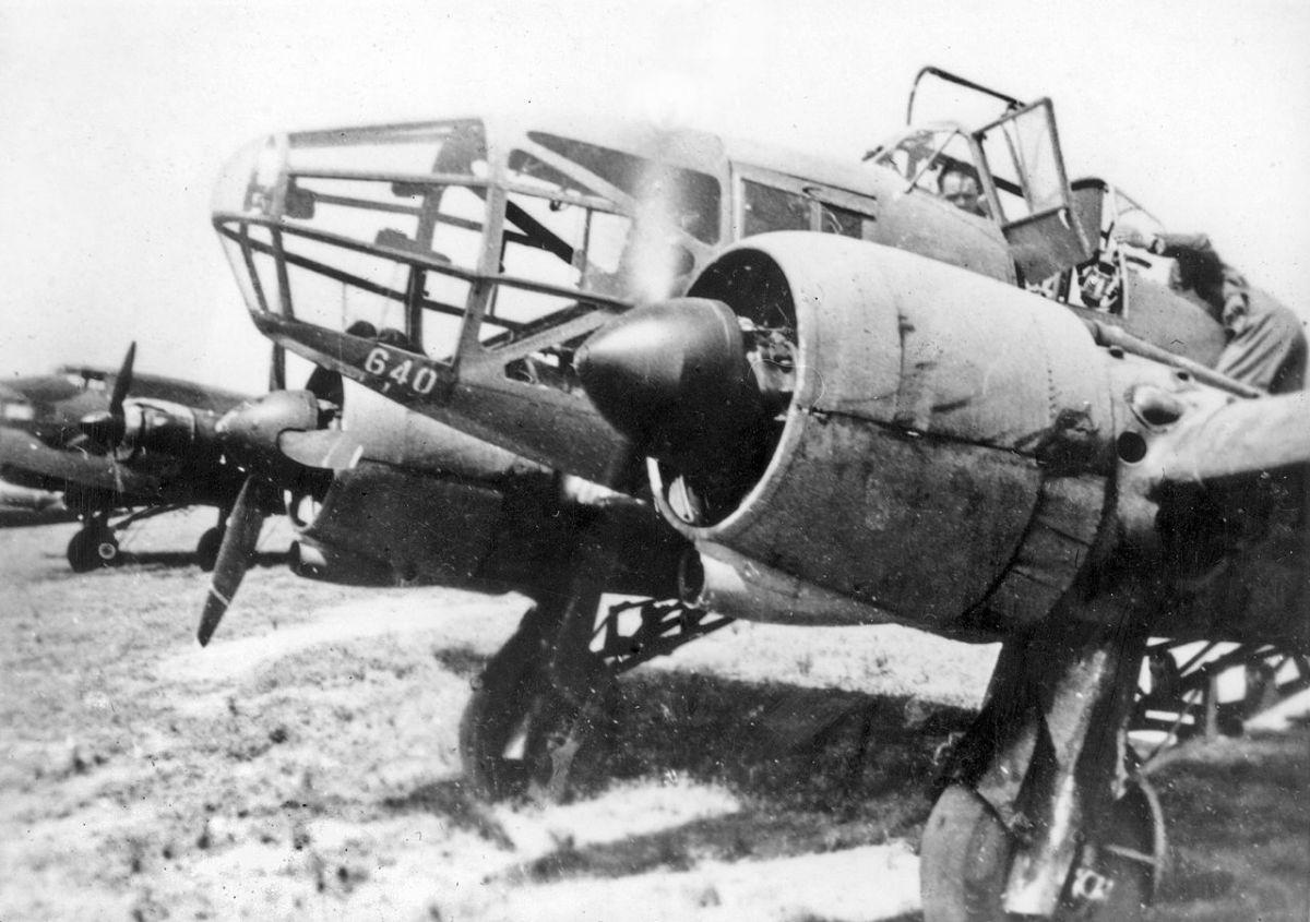 French Potez 633.11 reconnaissance aircraft