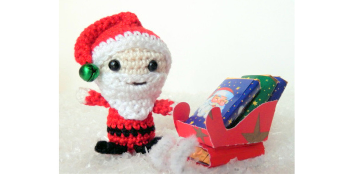 Free Amigurumi Christmas Santa Crochet Patterns