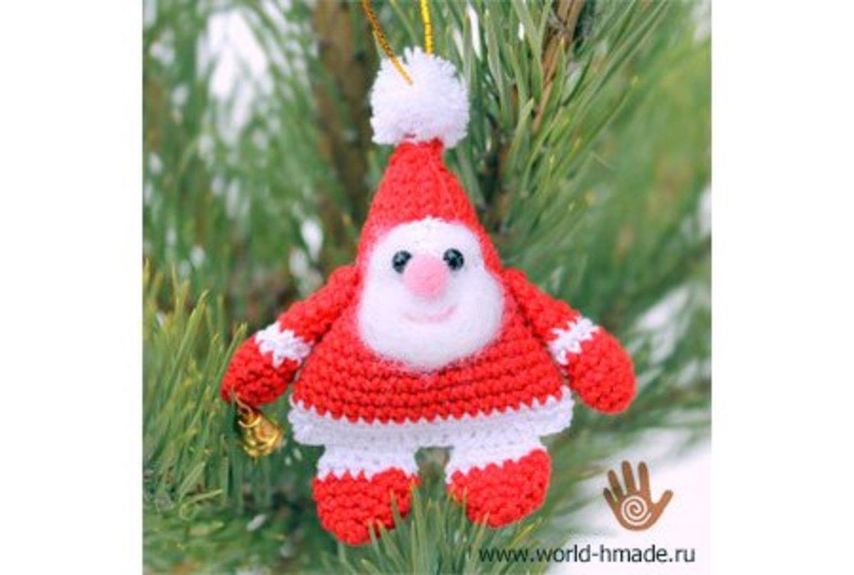 Free Amigurumi Christmas Santa Crochet Patterns